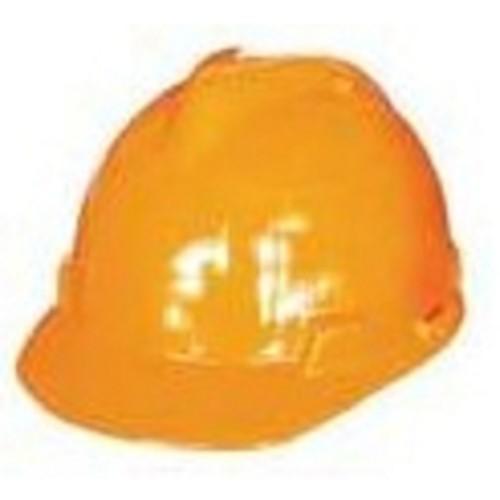 KRISBOW Safety Helmet KW10-324 [KW1000324] - Orange - Helm Proyek / Safety Helmet